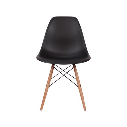 Nood Dsw Dining Chair - Black