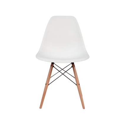 Nood DSW Dining Chair - White