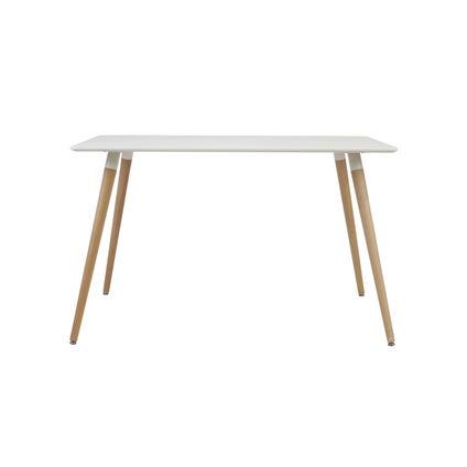 Perk Dining Table - Rectangle - White