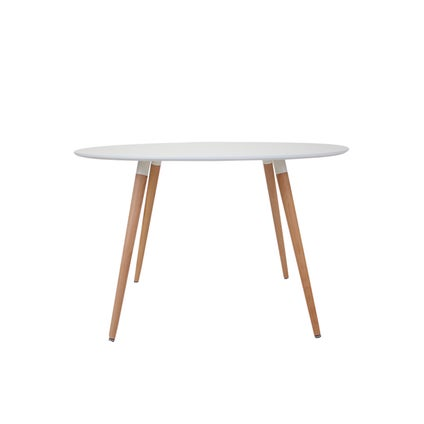 Perk Dining Table - Round - White