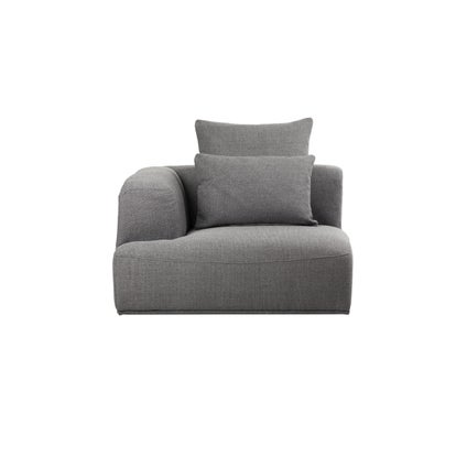 Sabine Modular Left Hand 1-Seater - Charcoal