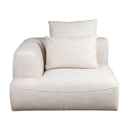 Sabine V3 Modular Left Hand 1 Seat - Natural