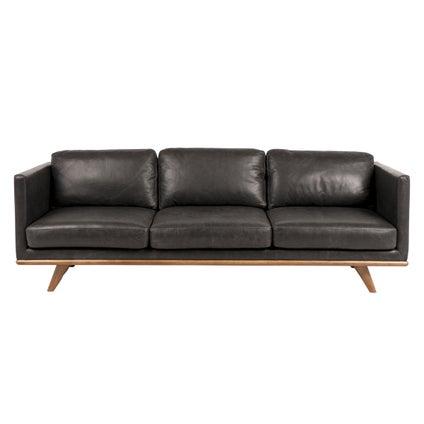 Aspen 3 Seat Sofa -  Black