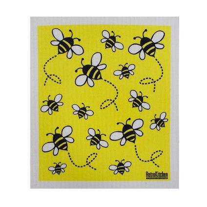 Swedish Dish Cloth - Bee