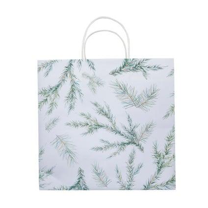 Nood Gift Bag - Branch - White/Green - Large