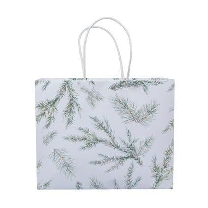Nood Gift Bag - Branch - White/Green - Small