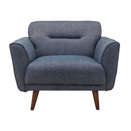 Hayden Armchair - Steel Blue