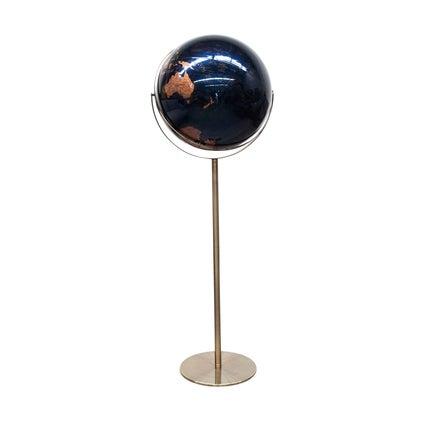 Terra Globe Standing- Midnight Blue