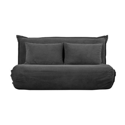 Overlap Sofa Bed Double - Anthracite