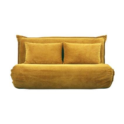 Overlap Sofa Bed Double - Yellow