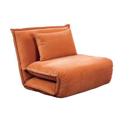 Overlap Sofa Bed Single - Copper