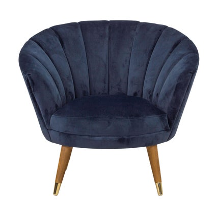 Palm Armchair- Dark Blue