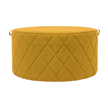 Bessie Ottoman- Large- Yellow
