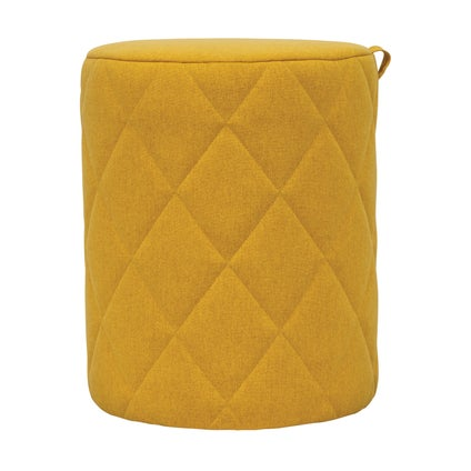 Bessie Ottoman - Small - Yellow