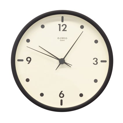 Moonie Wall Clock - Black