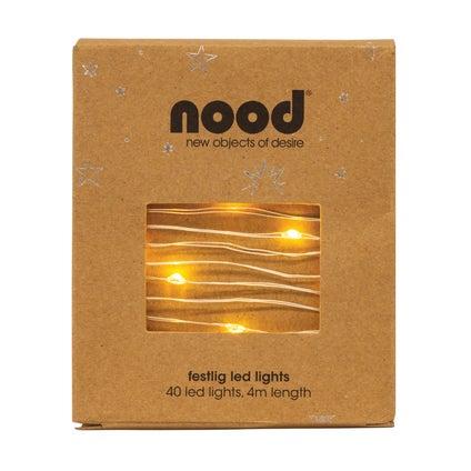 Festlig LED Lights - Silver
