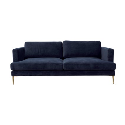 Harris 3 Seat Sofa - Dark Blue