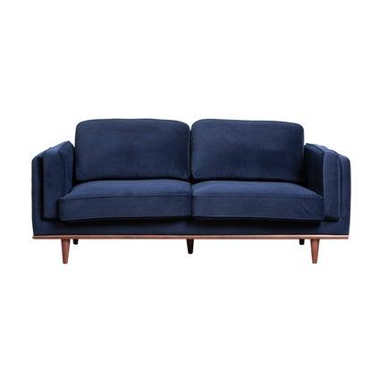 Sara 2.5-seat Sofa - Dark Blue