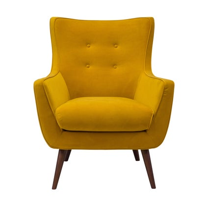 Arista Armchair- Yellow