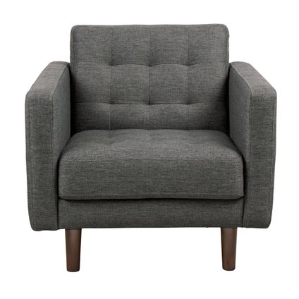 Bloom Armchair - Charcoal