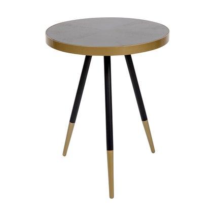 Arthur Side Table - Black 44cm