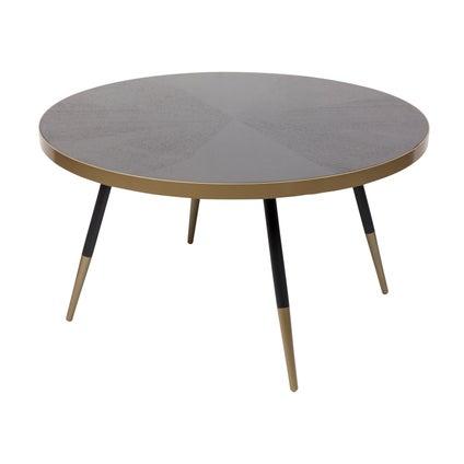 Arthur Coffee Table - Black 81cm