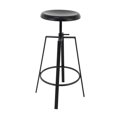 Twirl Counter Stool- Black