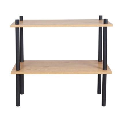 Stow Shelf Small- Oak/Black