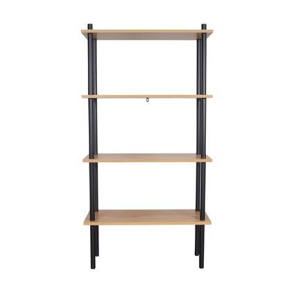 Stow Shelf Large- Oak/Black