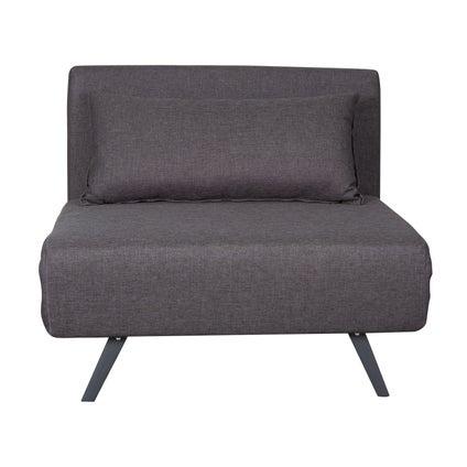 Percy Single Sofa Bed- Dark Grey