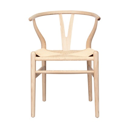 Replica Wishbone Chair- Natural