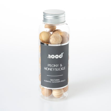 Matana Wooden Balls- Peony & Honey