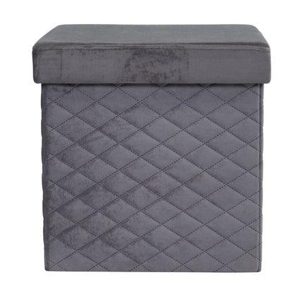 Foldit Ottoman - Charcoal