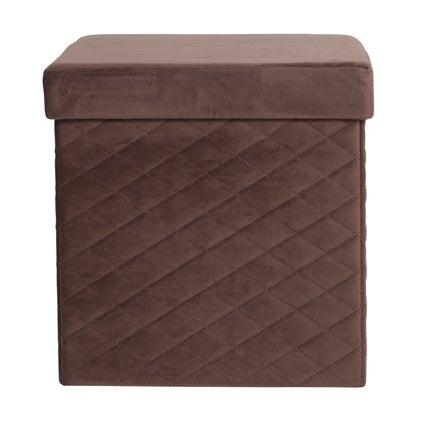 Foldit Ottoman - Chocolate