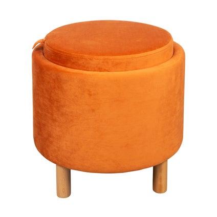 Tray Top Ottoman - Copper