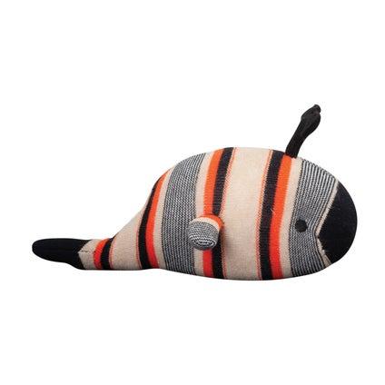 Wylie Whale Sock Toy