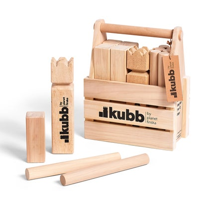 Kubb Wooden Game