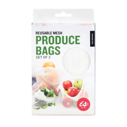 Reusable Produce Bags- 3pc