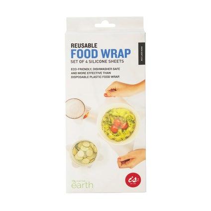 Reusable Food Wrap- 4pc