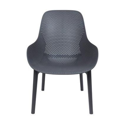 Torquay Lounge Chair - Charcoal