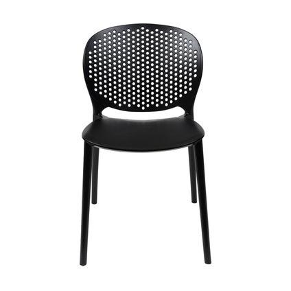 Sol Dining Chair - Black