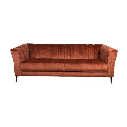 Fabian 3-seat Sofa - Rust