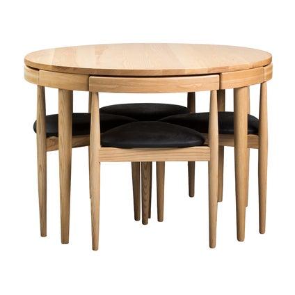 Replica Olsen Dining Table - Ash - 5pc