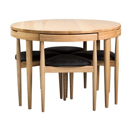 Replica Olsen Extendable Dining Table - Ash - 5pc