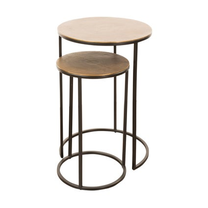 Forge V2 Nest Table - Old Gold 2pc
