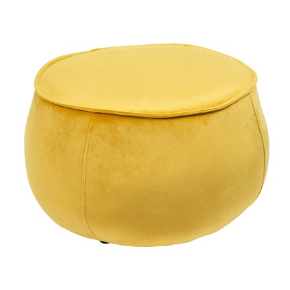 Cher Ottoman Round - Yellow