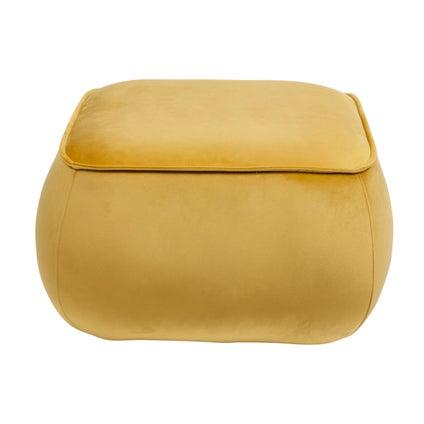 Cher Ottoman Square - Yellow