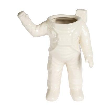 Astronaut Planter - White