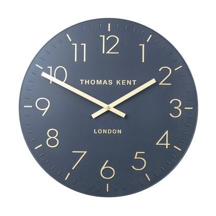 Durham Wall Clock - Indigo
