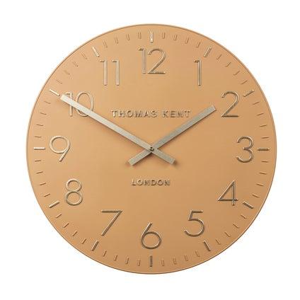 Durham Wall Clock - Mustard